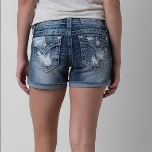 Miss me jean shorts 26